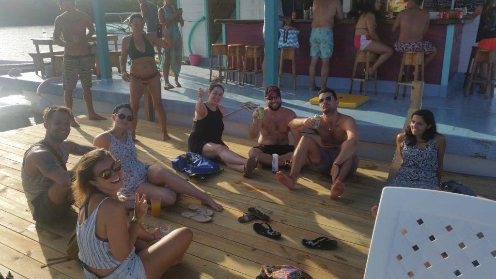Nomad Floating Bar Takeover