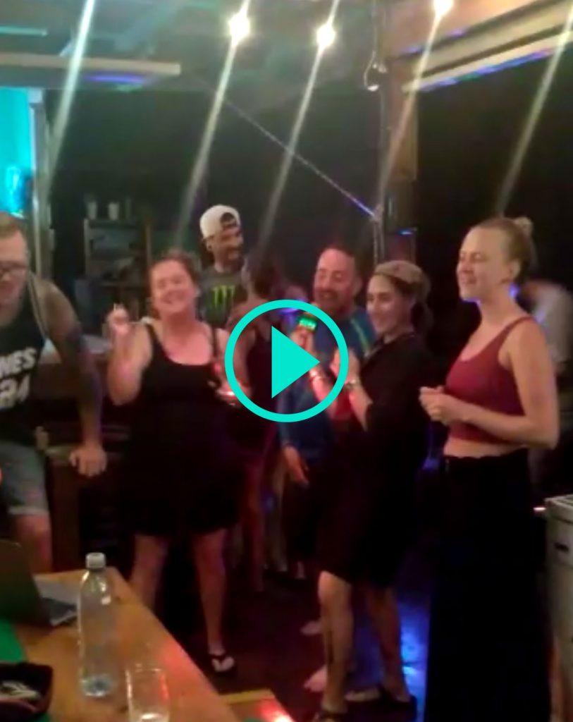 Group Karaoke Fun